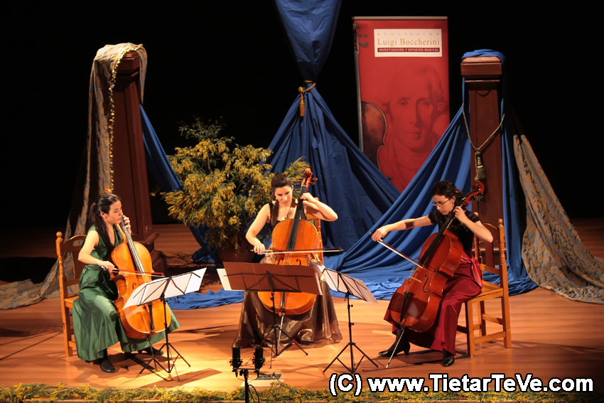VI Festival Luigi Boccherini - Iris Azquinecer, Andrea Casarrubios e Irene Mateos