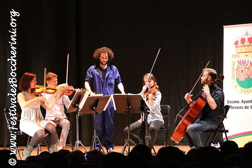 Conciertos Didácticos - XII Festival Boccherini - Arenas de San Pedro - Festivales Boccherini