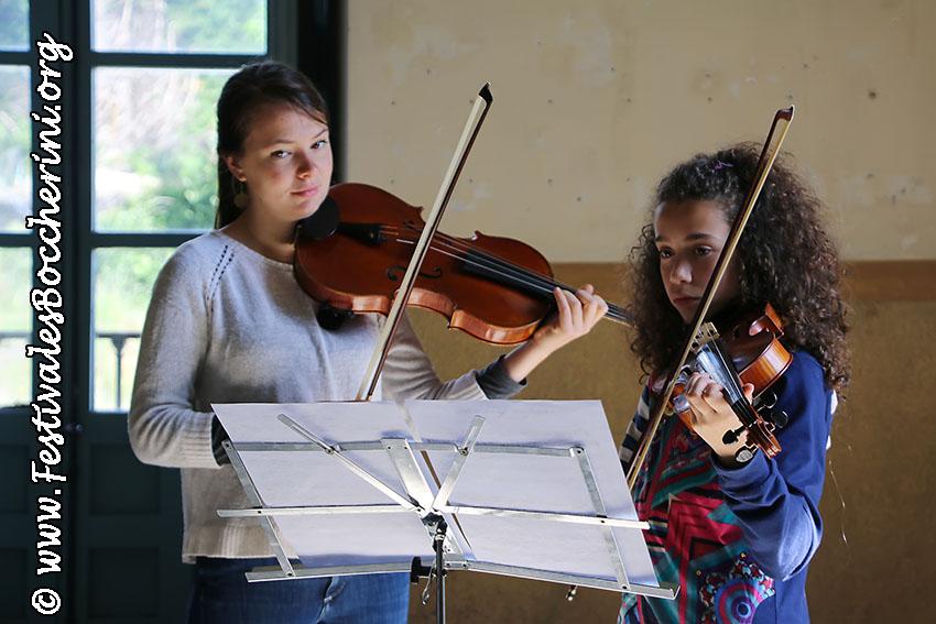 Encuentros Pedagógicos - XII Festival Boccherini - Arenas de San Pedro - Festivales Boccherini