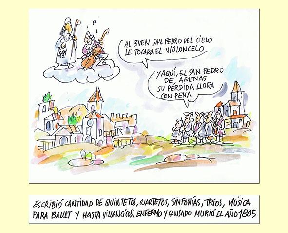Luigi Boccherini por Guillermo Summers