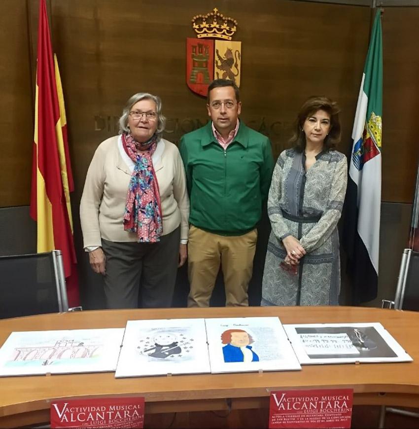 Rueda de Prensa V Actividad Alcántara con Boccherini