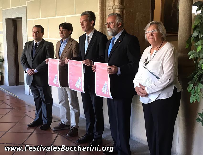 Rueda Prensa Presentación Festivales Boccherini