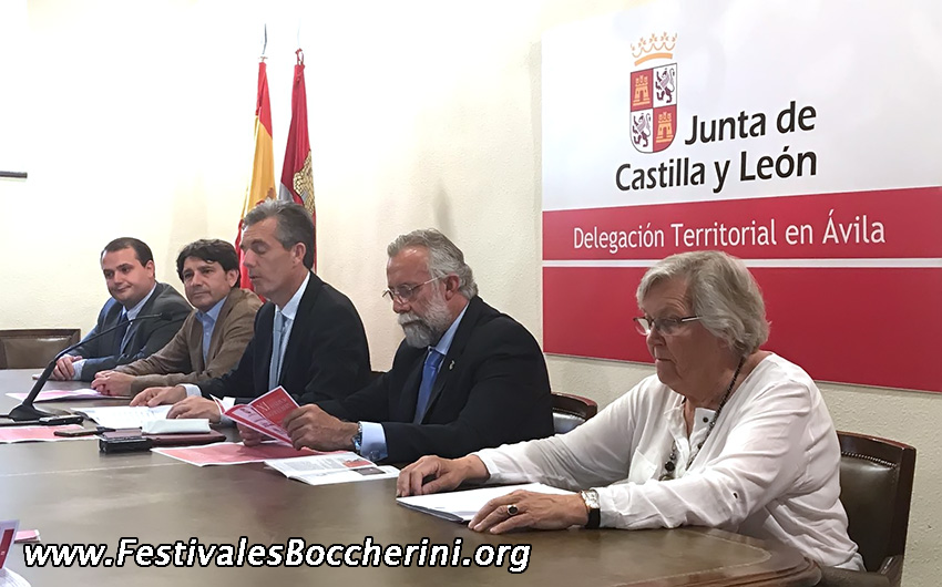 Rueda Prensa Presentación Festivales Boccherini 2017