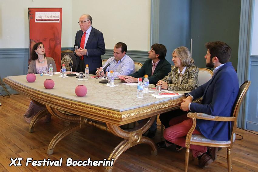 Inauguración del XI Festival Boccherini