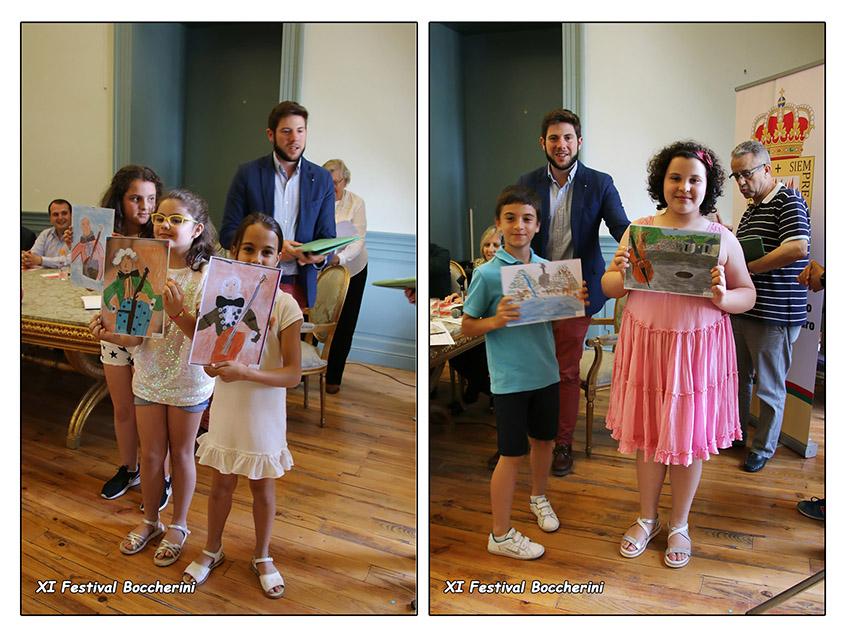 Premios Concursos de Dibujos - XI Festival Boccherini