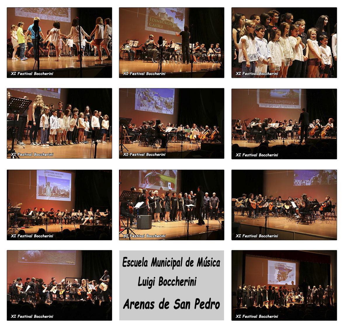 """Concierto Escuela Municipal de Musica """"Luigi Boccherini"""" de Arenas de San Pedro en el XI Festival Boccherini"""