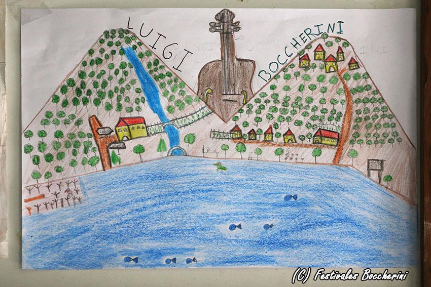 3º Premio Concurso Dibujo - Jesús Coria García - CC Divina Pastora - XI Festival Boccherini