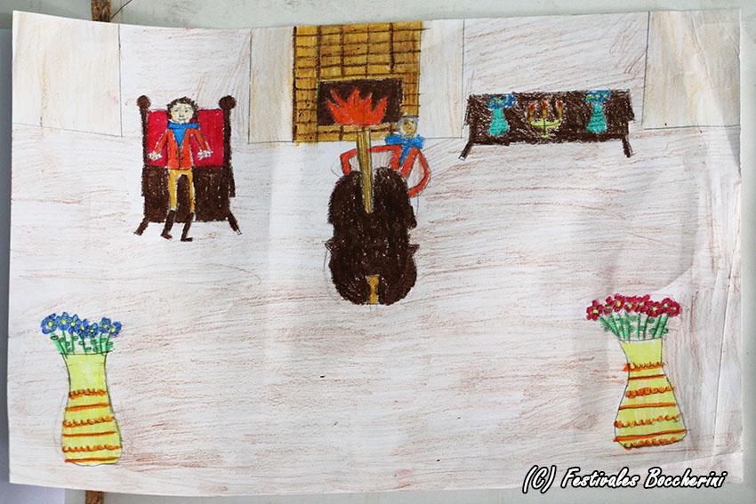 2º Premio Concurso Dibujo - Patricia Cruz Peláez - CC Divina Pastora - XI Festival Boccherini