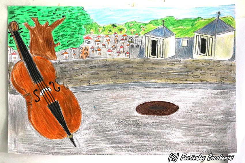 1º Premio Concurso Dibujo: Celia García Álvarez - CC Divina Pastora - XI Festival Boccherini