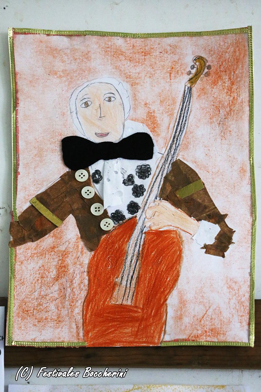 1º Premio Concurso Dibujo - Vega Ortíz Pardillo - XI Festival Boccherini