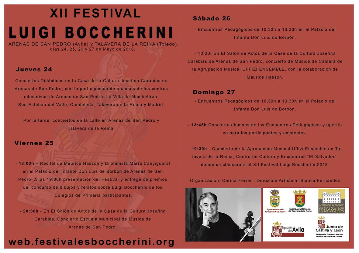 FLYER festival BOCCHERINI