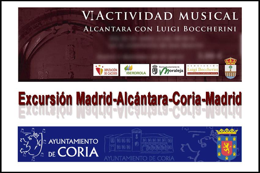 Excursión Alcántara - Coria - Festivales Boccherini