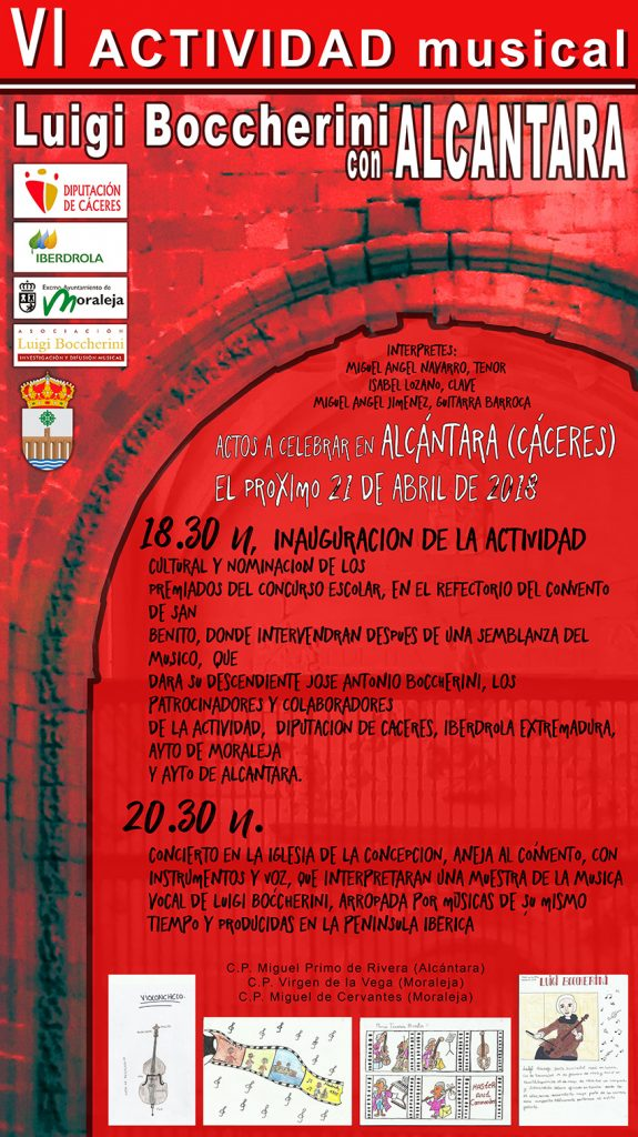 VI Actividad Musical Alcántara con Boccherini 2018 - Festivales Boccherini