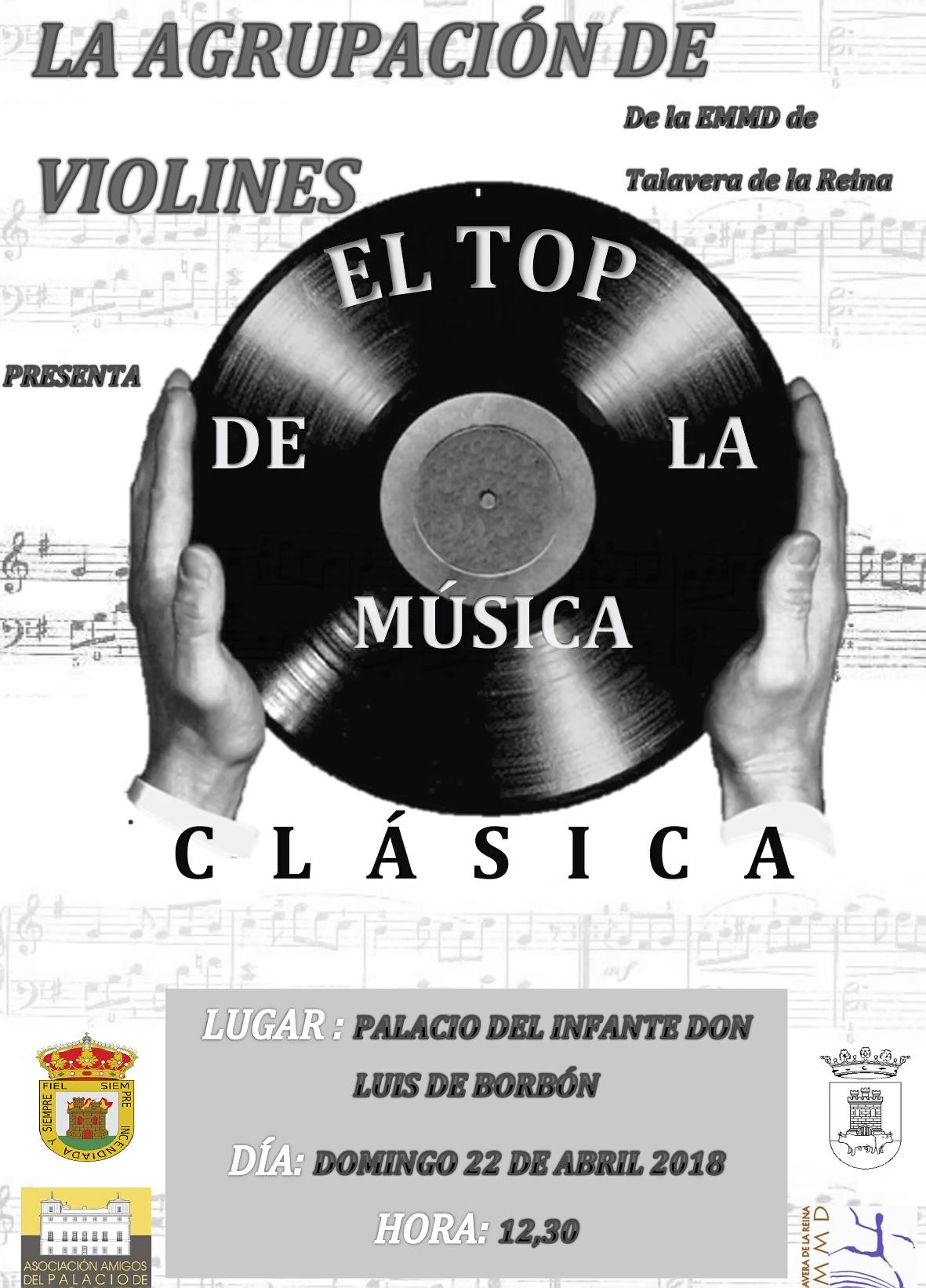 Concierto Agrupación de Violines de Talavera en Arenas de San Pedro - Festivales Boccherini