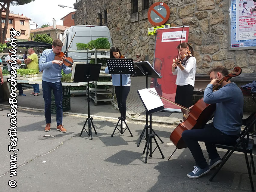 Concierto Uffizi Ensemble Calles de Arenas de San Pedro - Festivales Boccherini