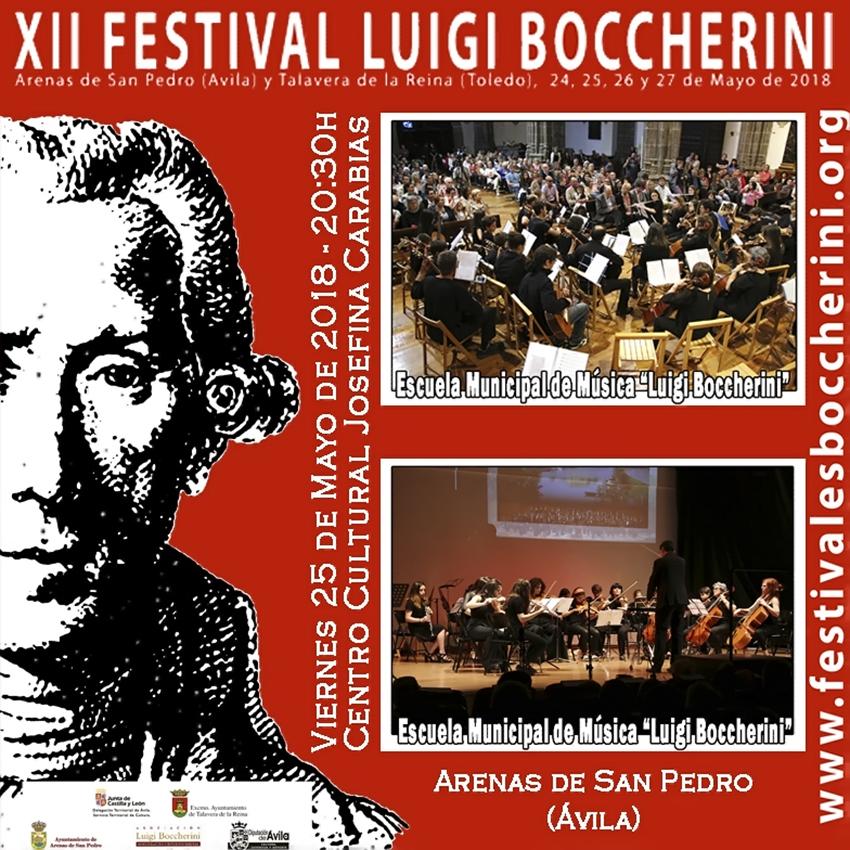 Concierto EMMLB - XII Festival Boccherini 2018 Arenas de San Pedro y Talavera de La Reina