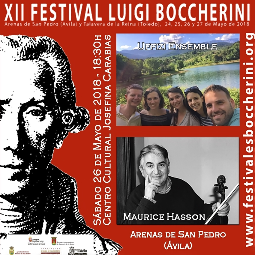 Concierto UFFIZI Ensemble  - XII Festival Boccherini 2018 Arenas de San Pedro