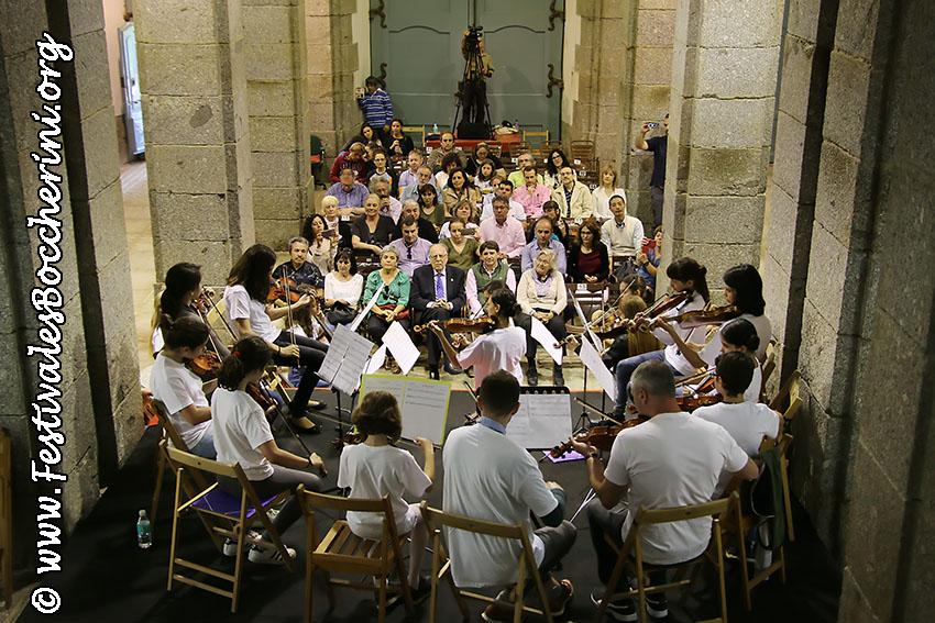 Concierto final Encuentros Pedagógicos - XII Festival Boccherini - Arenas de San Pedro - Festivales Boccherini