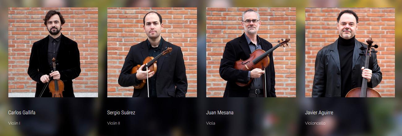 Cuarteto Trifolium - Festivales Boccherini