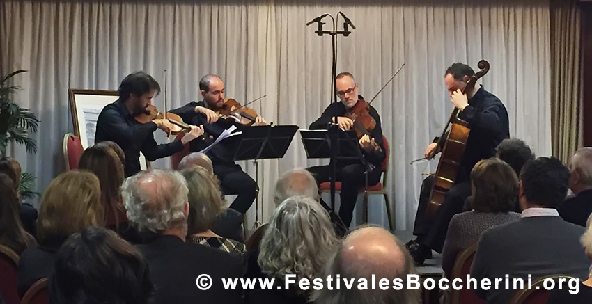 XVI VELADA LUIGI BOCCHERINI 2018 - Festivales Boccherini
