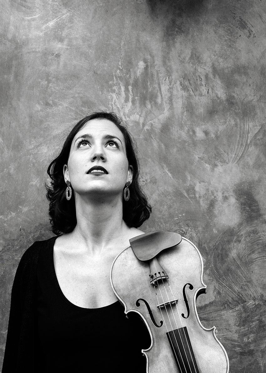 Blanca Fernández - violinista - Festivales Boccherini