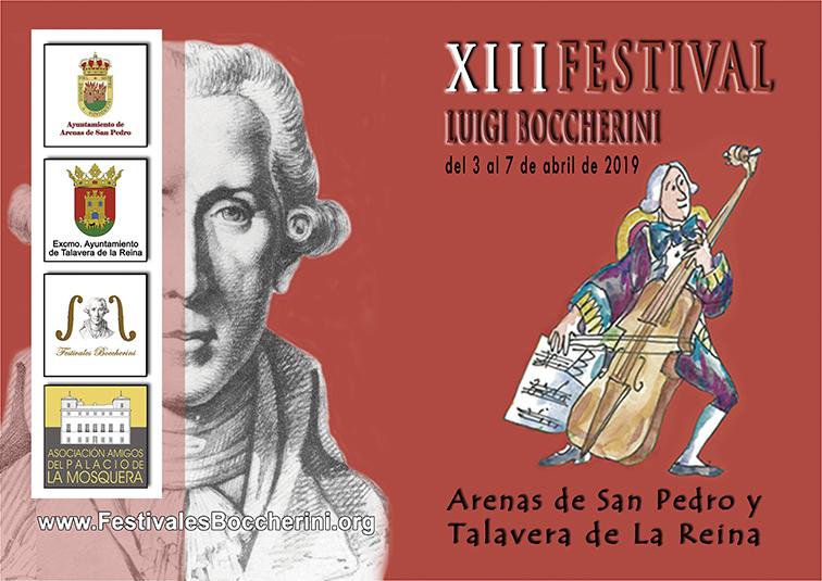 Carpeta XIIII Festivales Boccherini 2019 - Festivales Boccherini