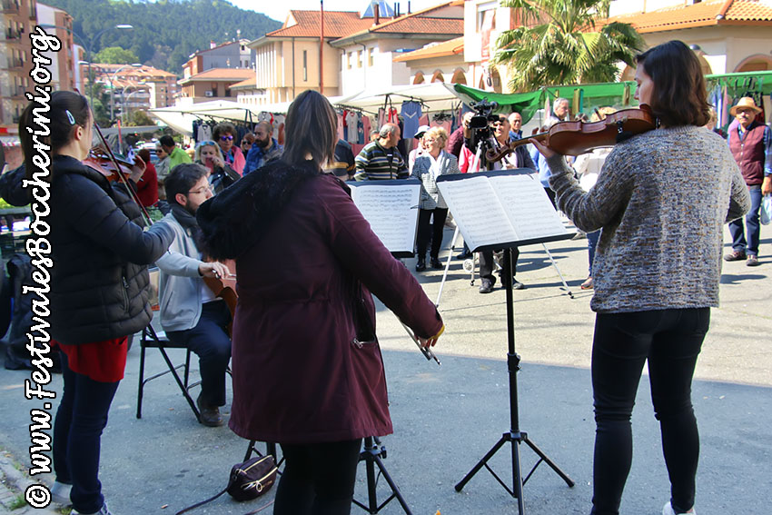 Musica en el Mercadillo - Festivales Boccherini
