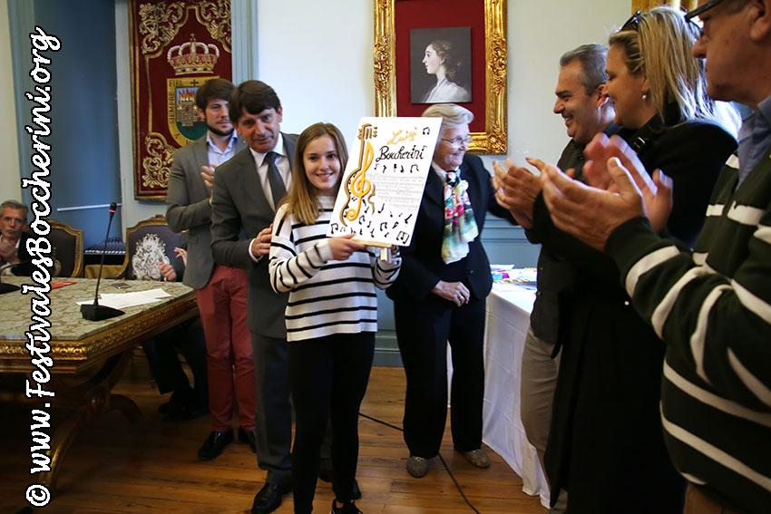 Entrega de Premios Concurso de Dibujos - Festivales Boccherini