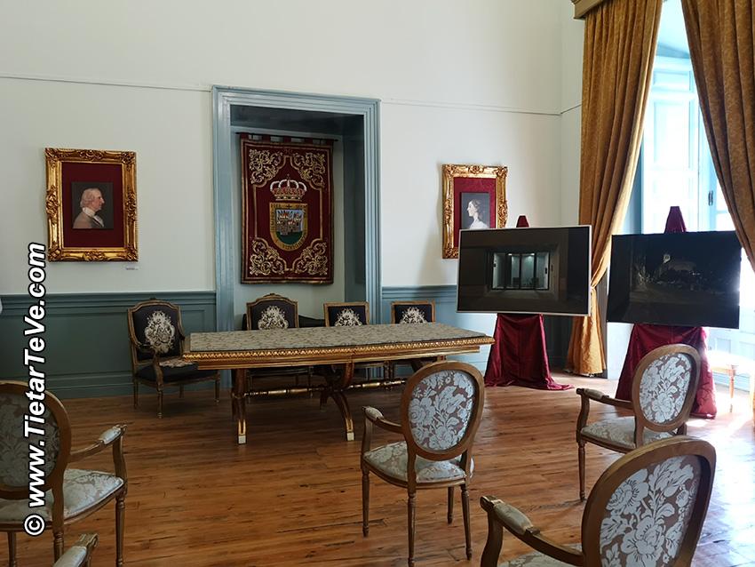Salón Goya del Palacio de La Mosquera