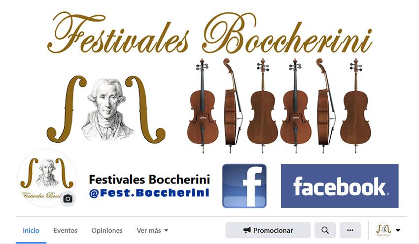 Página en Facebook de los Festivales Boccherini de Arenas de San Pedro y Talavera de La Reina.