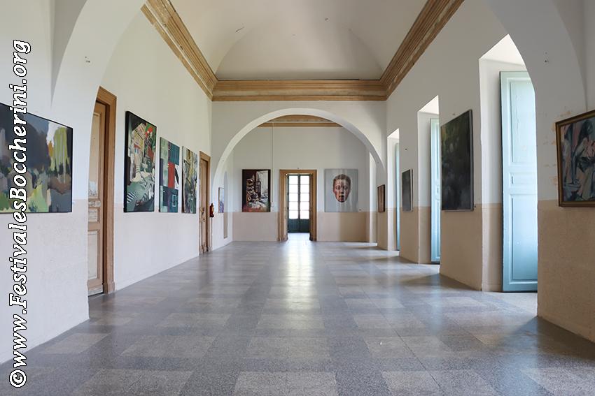 Salón Boccherini del Palacio del Infante don Luis de Borbón (o Palacio de La Mosquera) de Arenas de San Pedro