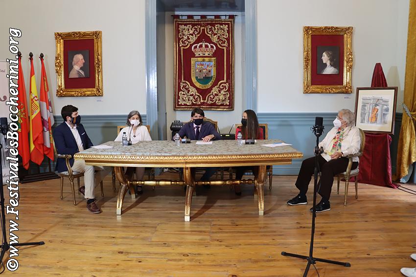 Inauguración del XIV Festival Boccherini de Arenas de San Pedro