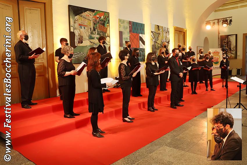 """Concierto del Coro de la Escuela Municipal de Música """"Luigi Boccherini"""" de Arenas de San Pedro en el XIV Festival Boccherini"""